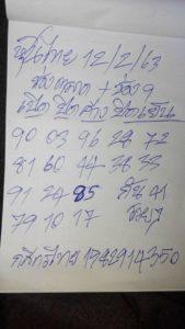 หวยหุ้นไทย 12/2/63 ชุดที่2