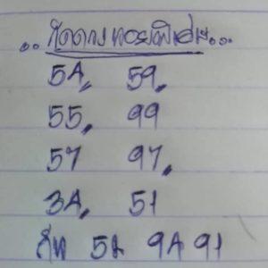 หวยฮานอยพารวย 17/4/63 ชุดที่ 2