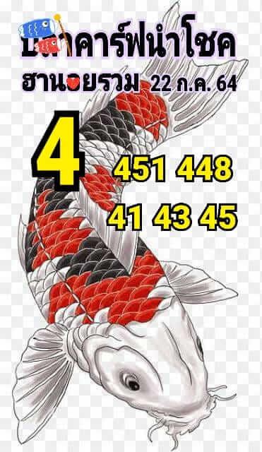 หวยฮานอย22-7-64ชุด15