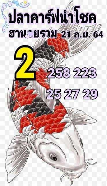 หวยฮานอย 21-9-64 ชุด 1